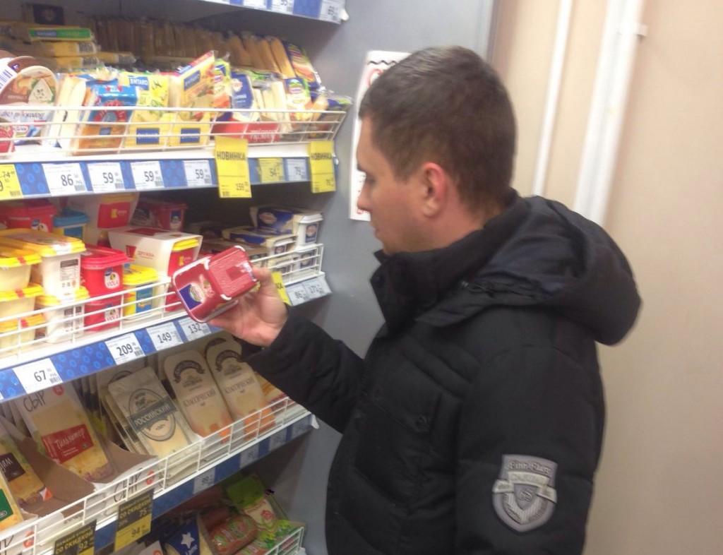 В поселении Кокошкино под контроль попали продукты в сетевом магазине