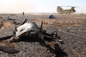 """EGYPT. NOVEMBER 1, 2015. Debris at the site where a Russian aircraft crashed in Egypt's Sinai Peninsula near El Arish city. Kogalymavia Airbus A321 came down in central Sinai as it traveled from Sharm el-Sheikh to St Petersburg, killing all 217 passengers and 7 crew members on board. Maxim Grigoryev/TASS Åãèïåò. 1 íîÿáðÿ 2015. Íà ìåñòå êðóøåíèÿ ðîññèéñêîãî ñàìîëåòà Airbus A321. Ñàìîëåò àâèàêîìïàíèè """"Êîãàëûìàâèà"""", âûïîëíÿâøèé ðåéñ Øàðì ýø-Øåéõ - Ñàíêò-Ïåòåðáóðã, íà áîðòó êîòîðîãî íàõîäèëèñü 224 ÷åëîâåêà, âêëþ÷àÿ ÷ëåíîâ ýêèïàæà, ðàçáèëñÿ â 100 êì îò Ýëü-Àðèøà íà ñåâåðå Ñèíàéñêîãî ïîëóîñòðîâà óòðîì 31 îêòÿáðÿ. Ìàêñèì Ãðèãîðüåâ/ÒÀÑÑ"""
