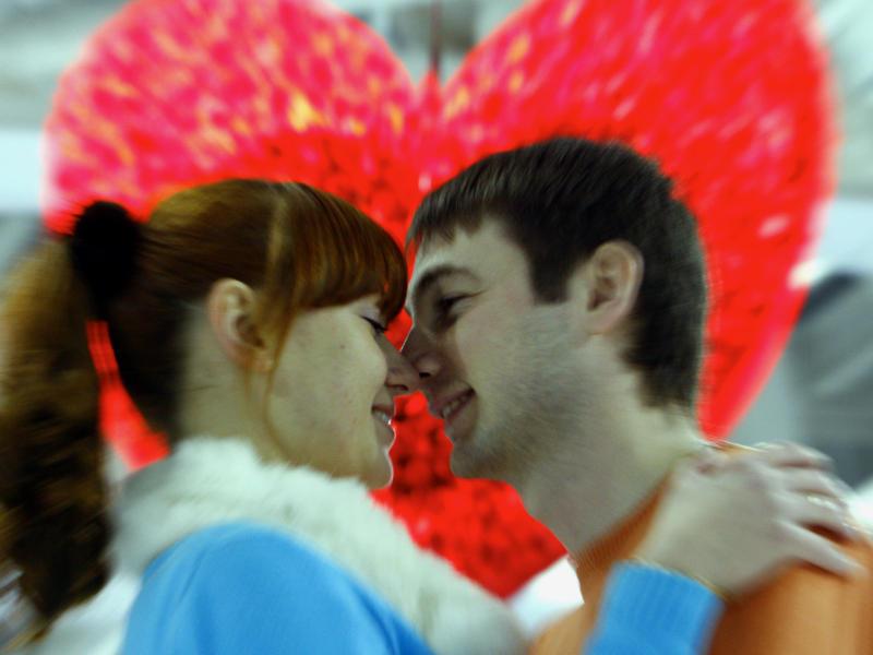 Ко Дню всех влюбленных в Останкино откроют место для поцелуев