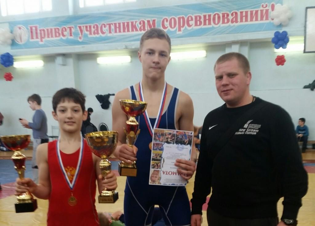 Щербинские борцы привезли золото со Всероссийского турнира