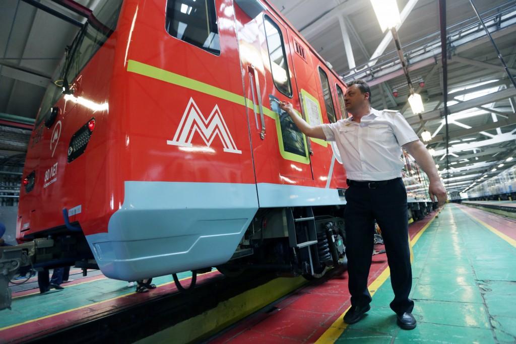 Посвященный Году кино поезд запустят в метро до июня