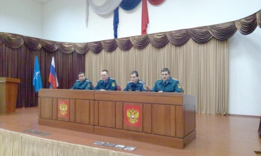 В управлении Министерства по чрезвычайным ситуациям подвели итоги