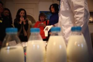"""Молочная Лаборатория в ресторане """"Белый"""""""