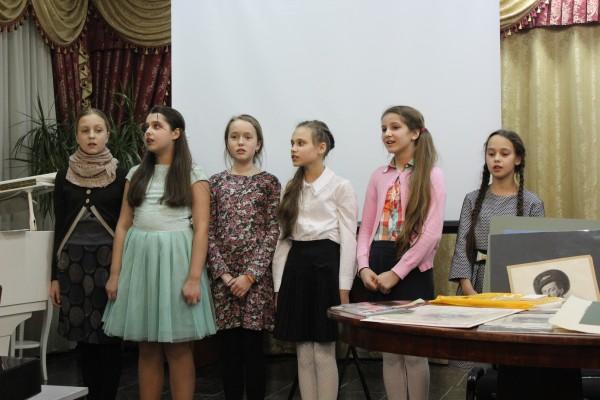 Память великого композитора почтили в Воскресной школе имени Цесаревича Алексия