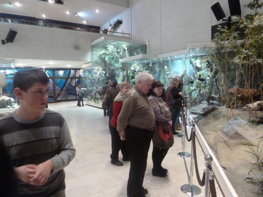 Ребята из многодетных семей ознакомились с экспозицией Дарвиновского музея