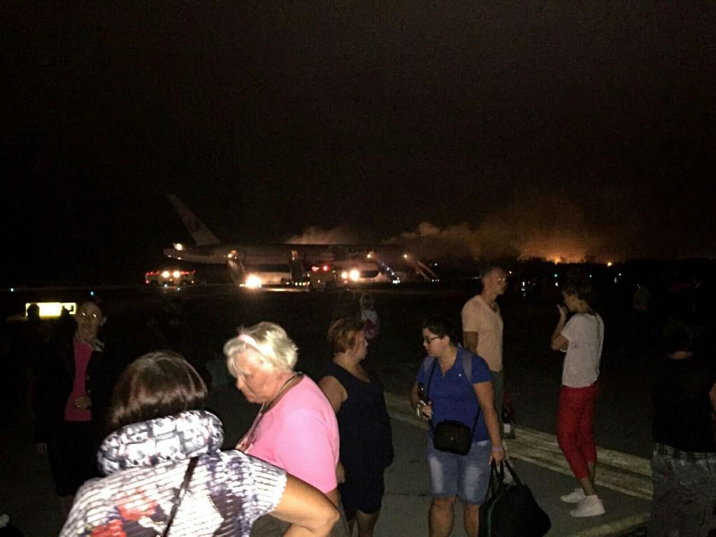 В Доминикане у российского самолета отказал двигатель