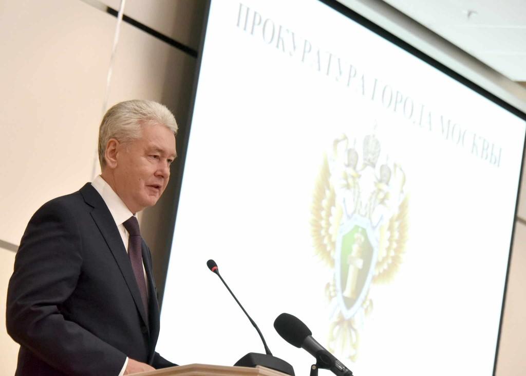 Сергей Собянин: в Москве сохраняется тенденция по снижению числа наиболее опасных преступлений