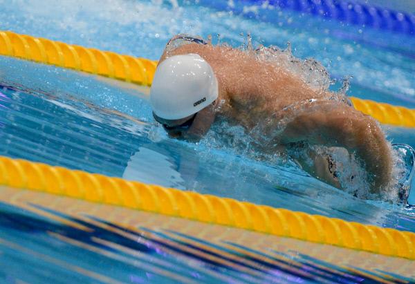 Москвичи победили в чемпионате по плаванию среди лиц с поражением опорно-двигательного аппарата