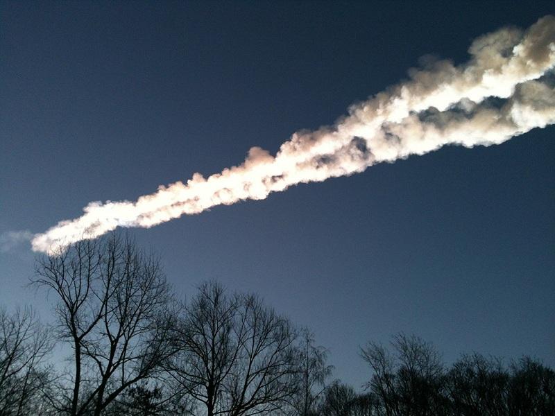 Метеорит впервые убил землянина