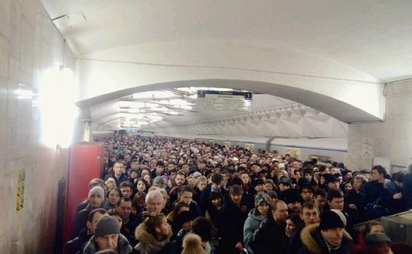 Сотрудники метро будут наказаны из-за давки на «Тульской»