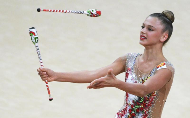 Московские гимнастки стали чемпионками