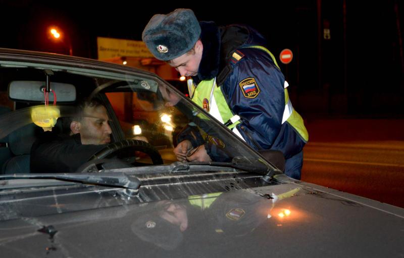 Водителей Новой Москвы проверят ночью
