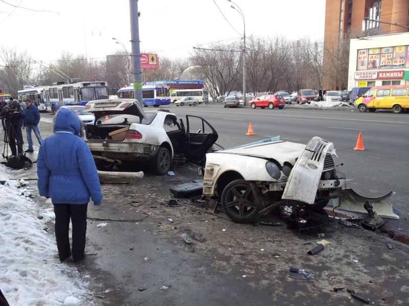 Самым частым дорожно-транспортным происшествием в январе стало столкновение