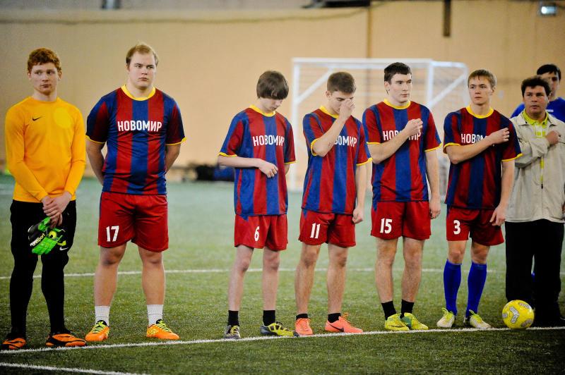 Финальные матчи по мини-футболу пройдут в Вороновском