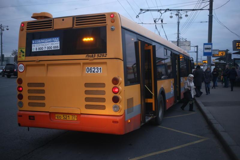 На автобусе по Балтийской
