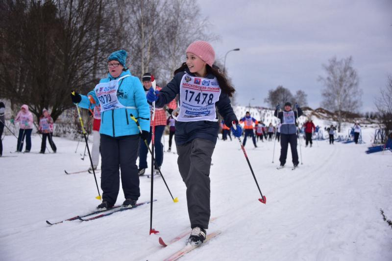 Окружные лыжные гонки организуют в Краснопахорском