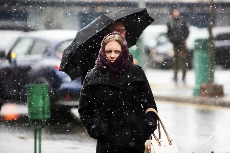 В Москве 25 февраля ожидается мокрый снег