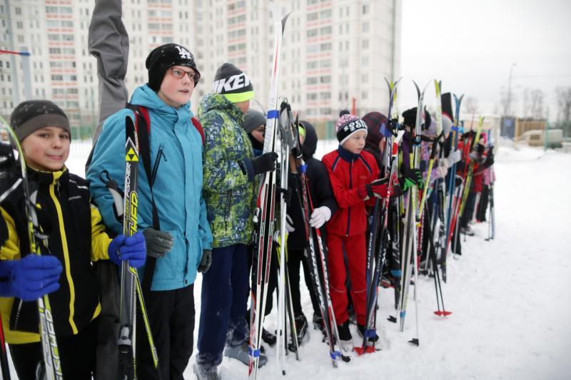 Снега хватит всей семье: лыжный марафон на