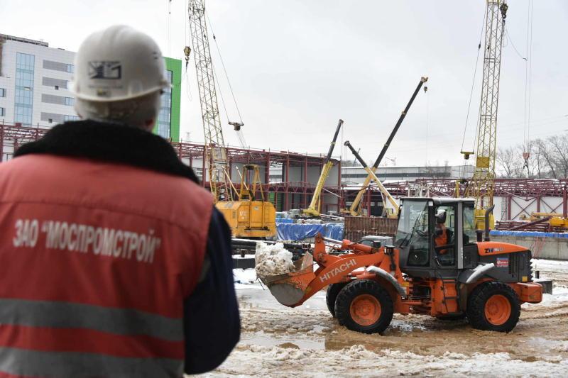 Около 323 тысяч «квадратов» жилых домов введут в строй в новых округах в феврале