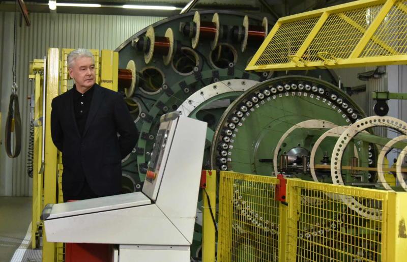На одном из старейших предприятий Москвы налажено инновационное производство