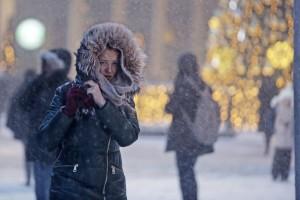 Дата: 13.01.2016, Время: 16:26 Снегопад в Москве