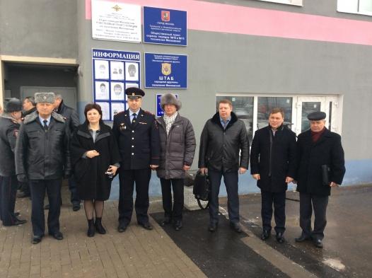 В поселении Московский заработал Пункт охраны общественного порядка
