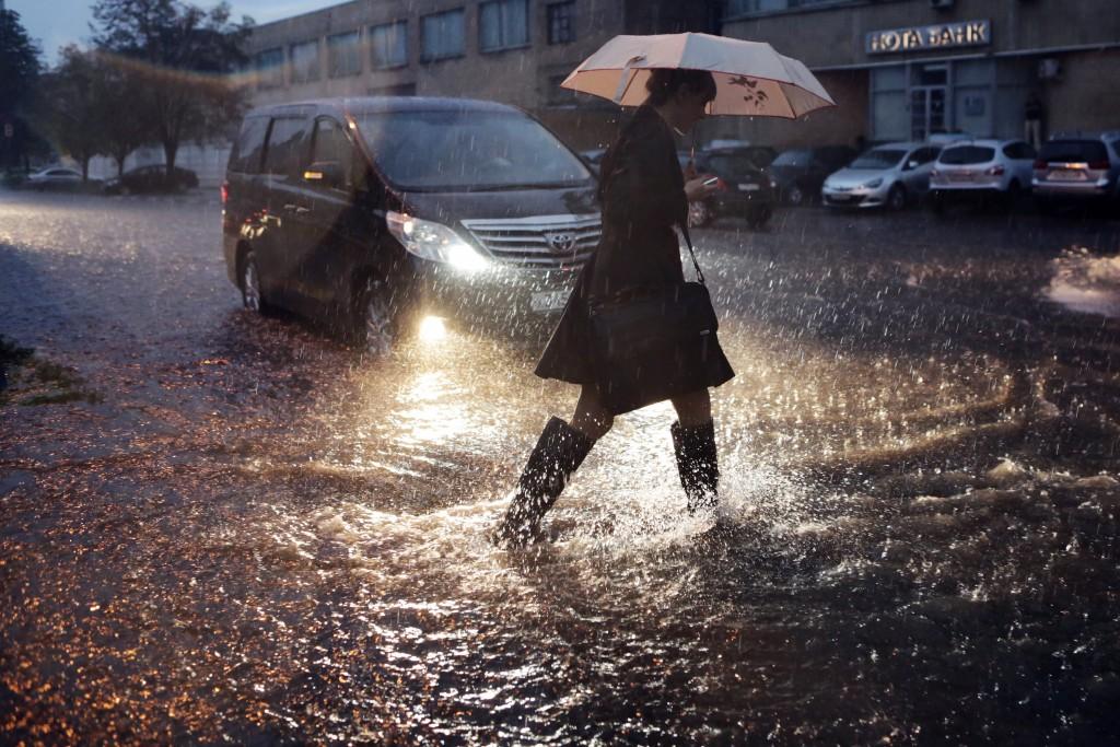 Москвичей призвали к осторожности из-за оттепели