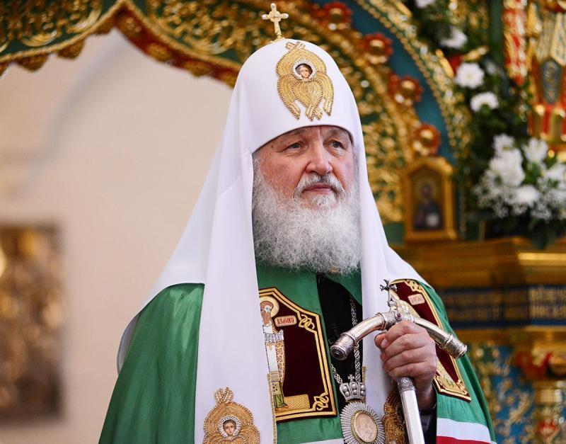 Патриарх Кирилл отменил богослужения из-за простуды