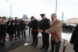 Открытие отдела полиции в Московском.