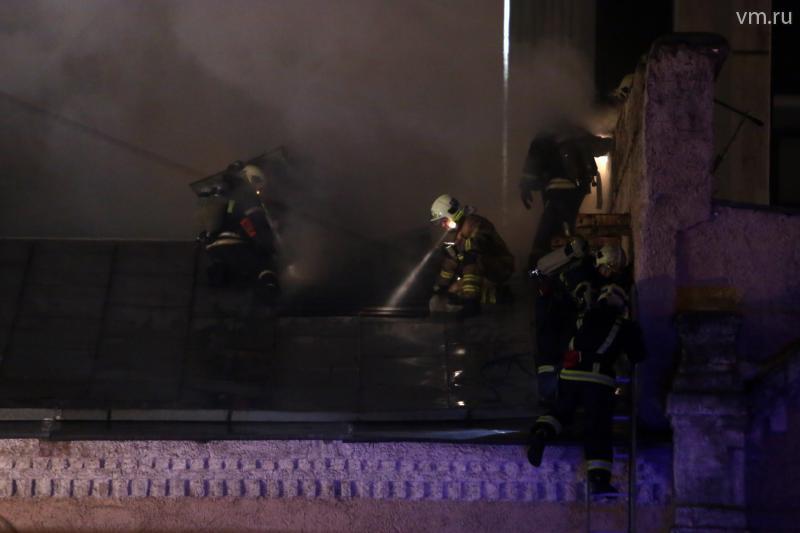 При пожаре в швейном цеху погибло восемь граждан Киргизии