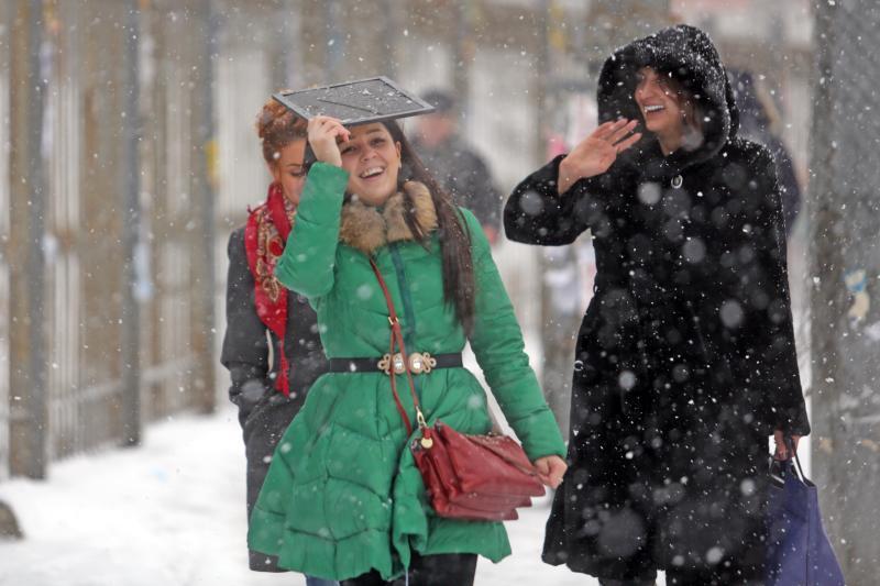 Небольшой снег пройдет в столице в субботу
