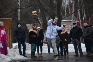 Снежные битвы в парке Кузьминки