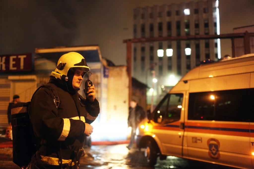 Потушен пожар в общежитии МАТИ на Фестивальной улице