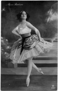 Анна Павлова в 1912 году. Фотоархив Wikipedia