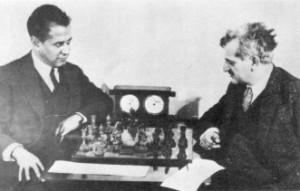 Капабланка и Ласкер. Фотоархив Wikipedia