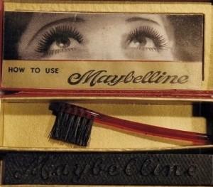 Первая тушь для ресниц от компании Maybelline