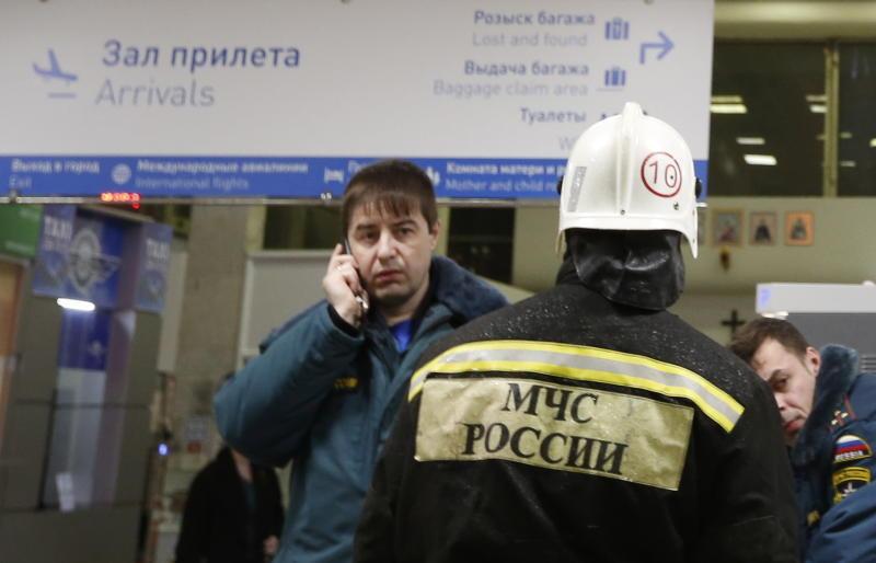 В Ростове-на-Дону при заходе на посадку упал пассажирский самолет