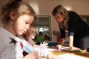 Один рабочий день преподавателя детского сада №1713 Лялиной Оксаны Сергеевны
