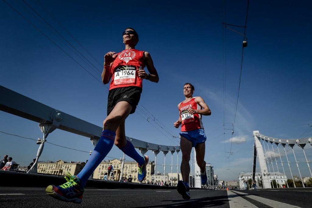 На участие в Московском марафоне зарегистрировались пять тысяч человек
