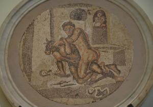 Мозаика из Помпей в Национальный археологический музей в Неаполе. Фотоархив Wikipedia