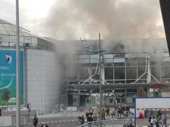 В Брюсселе прогремели два взрыва