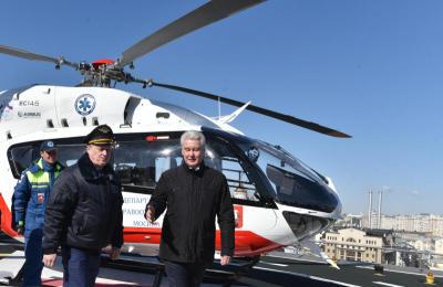 В санитарной авиации появились новые вертолеты