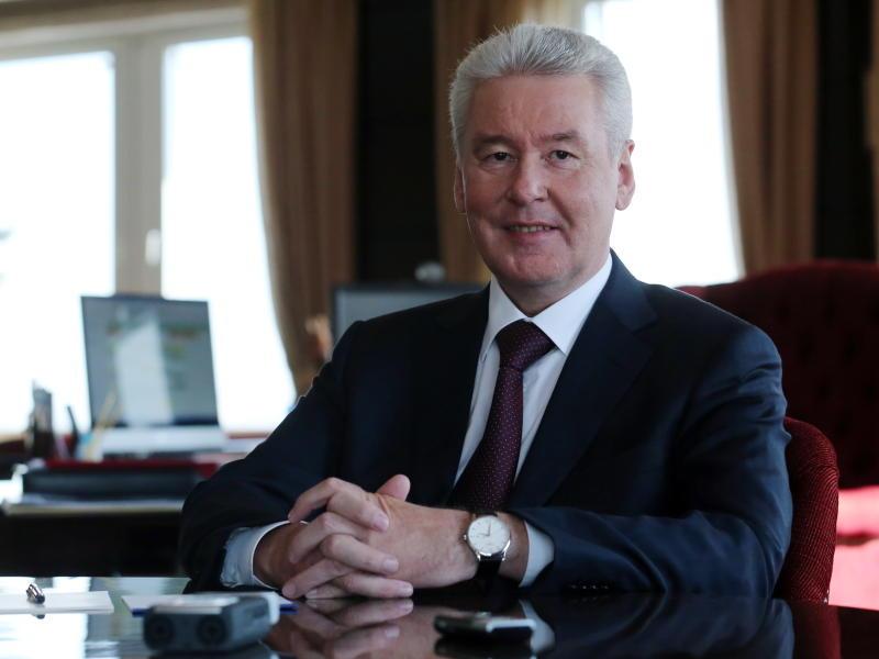 Мэр Москвы Сергей Собянин поздравил крымчан с воссоединением с Россией