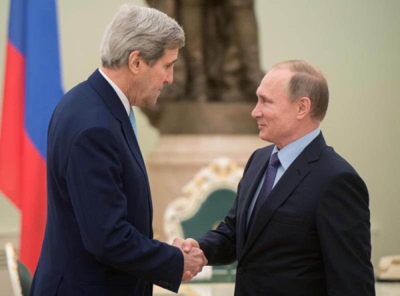 Владимир Путин и Джон Керри встретятся в Кремле 23 марта