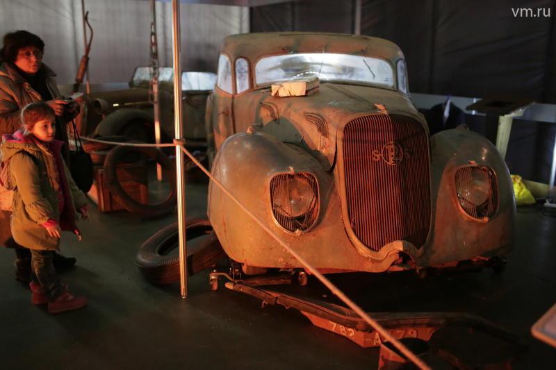 На выставке «Олдтаймер-Галерея» представлены автомобили Ленина и Сталина