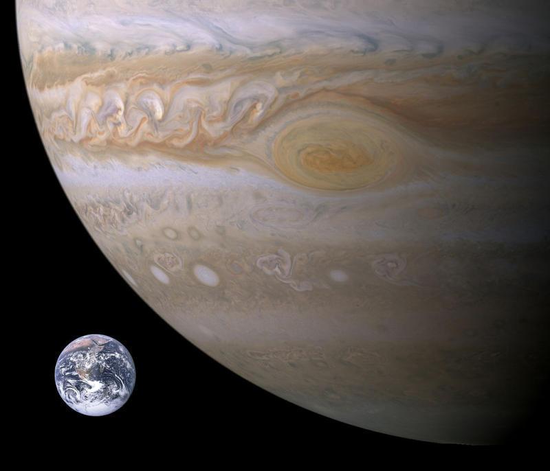 Планета Юпитер приблизится к Земле 8 марта