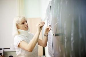 """Учительница математики Наталия Вознюк. Фото: Анна Иванцова, """"Вечерняя Москва"""""""