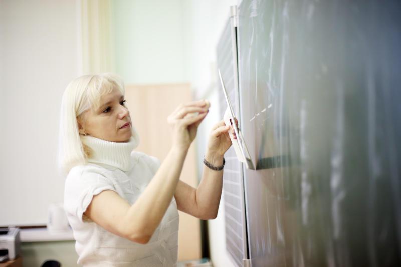 В школе Новофедоровского провели первое