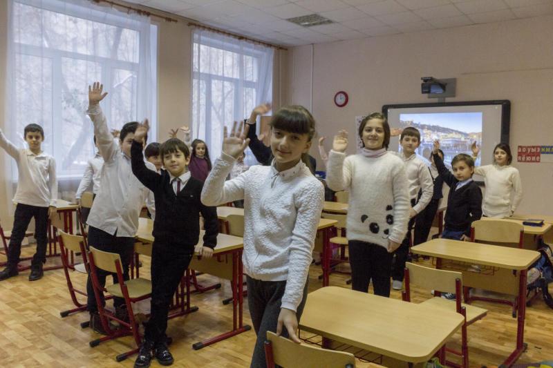 В школе Кленовского прошел необычный эксперимент