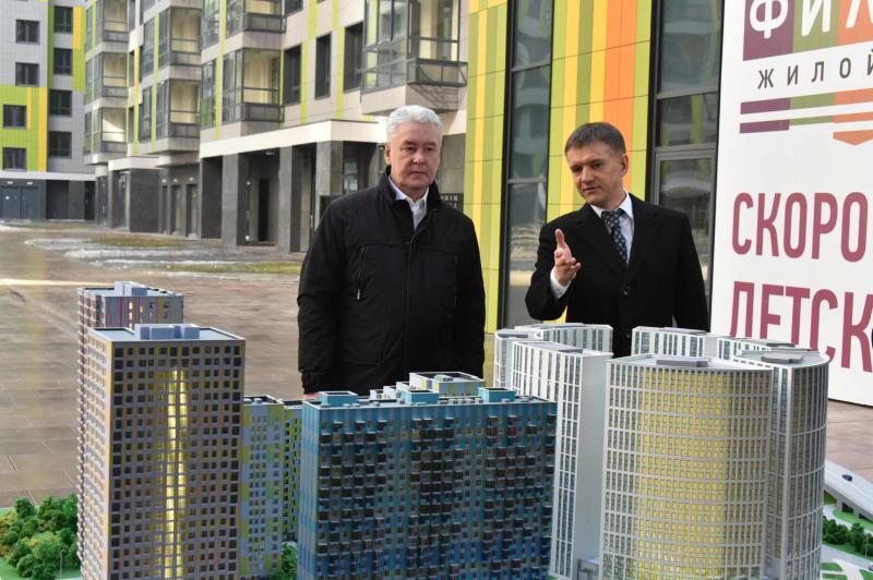 Собянин: В 2016 году в Москве будет построено 3 млн кв. м жилья